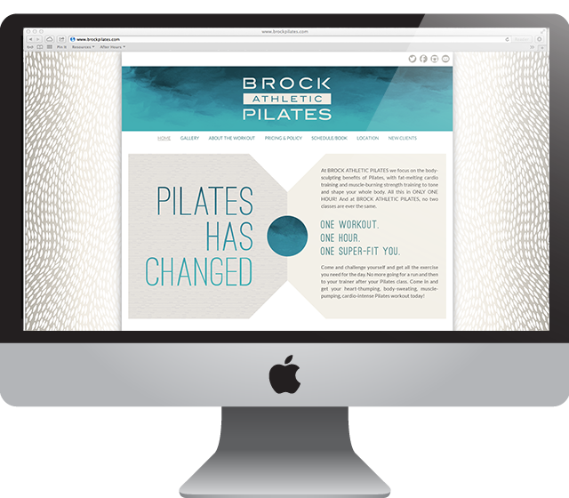 Website Design for Brock Pilates